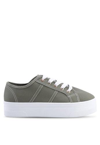 Rubi 綠色 Willow Platform 運動鞋 C068DSH2DD9097GS_1