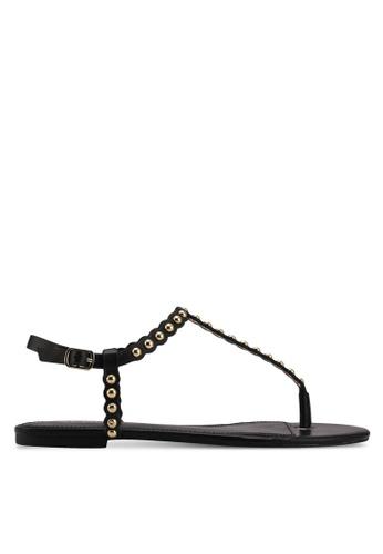 ALDO black Balata Flat Sandals 9480ESH7426731GS_1