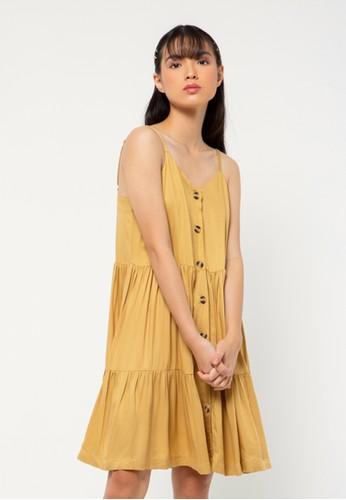COLORBOX brown Mini Dress 11A2FAAA04083EGS_1