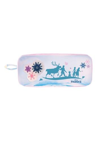 Disney Frozen purple Disney Frozen 2 Flashing Light TPU Pencil Bag 52225KC3773891GS_1