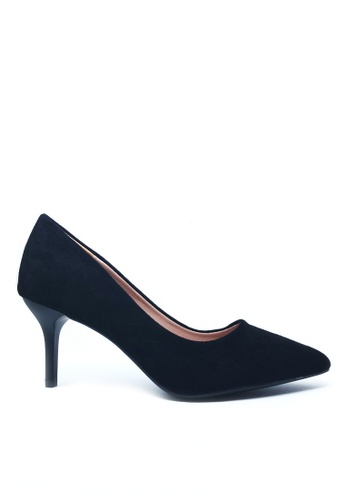 Twenty Eight Shoes black 7CM Pointy Pumps a777 EF3A9SH9A52BA8GS_1