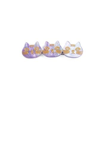 Glamorousky purple Simple and Cute Purple Cat Hair Clip 2F584AC456123BGS_1