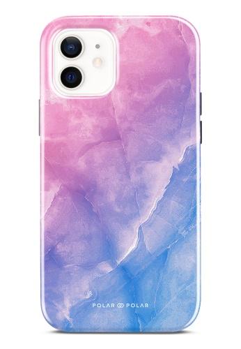 Polar Polar pink Sweet Rainbow Dual-Layer Tough Case Glossy For iPhone 12 Pro / iPhone 12 C4AFDACFC5EB64GS_1