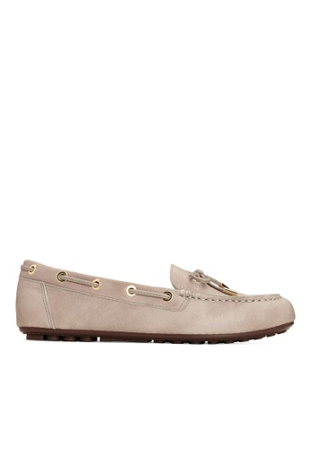 Vionic beige Virginia Leather Moccasin 27BFASH4A44033GS_1