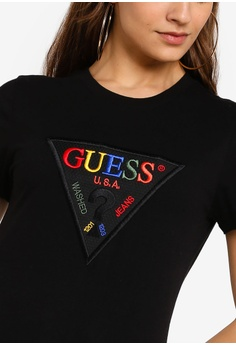 a29bfb35b084 Buy Guess T-Shirts For Women Online on ZALORA Singapore