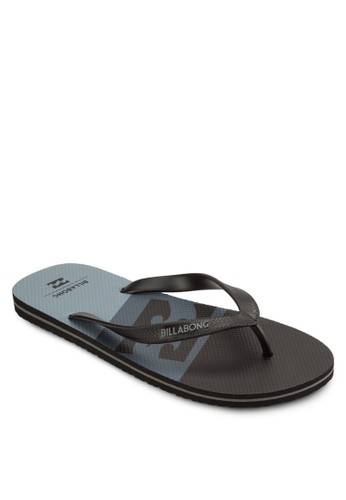 Cove 撞色細帶夾腳拖,esprit台灣outlet 鞋, 鞋