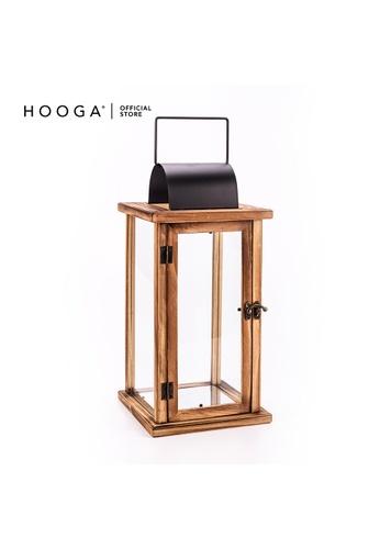 HOOGA brown Hooga Tealight & Candle Lantern Delrey 14C58HL13ECD0BGS_1