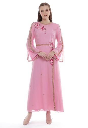 """Devain Kapoor pink """"Novelle"""" Stylish Gown 8C91AAA3299502GS_1"""