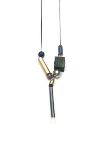 ACEXSPADE black Umet Long Necklace 2465EAC08D7992GS_1