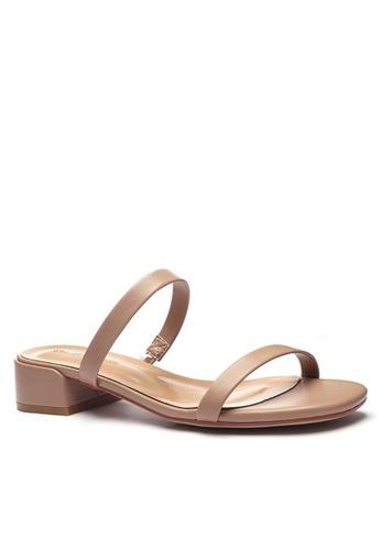 Twenty Eight Shoes 羊紋橫帶涼鞋3376-2 64F00SH855F45CGS_1
