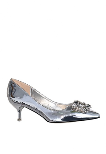 Twenty Eight Shoes silver 5.5cm Metallic Evening and Bridal Shoes VP8188 16933SH7E9BF3AGS_1