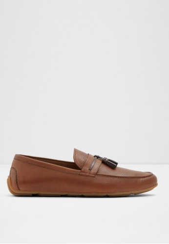 ALDO brown Canalelli Loafers CFF27SH3AE6870GS_1