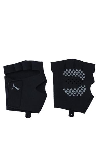 PUMA black Essential Premium Grip Cut Fingered CCF46AC93A35B0GS_1