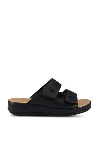 Speedy Rhino black Kids Comfort Sandals C952DKS990F615GS_1