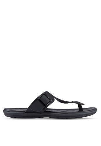 Louis Cuppers black Casual Sandals LO977SH11RDWMY_1