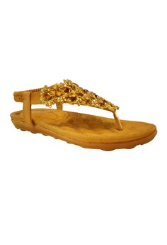 Fantasy Beads V-Strap Sandals 6268-2