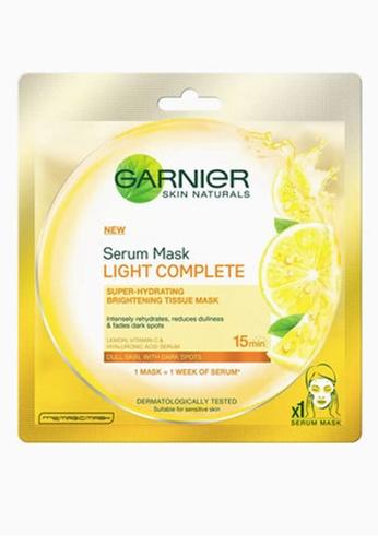 Garnier n/a Lemon Brightening Serum Face Mask For Dull Skin 52595BEE394331GS_1