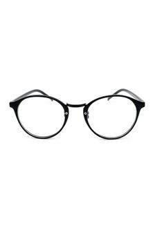 9bd741f5ec Round Plastic Frame Glasses - Glossy Black 3C457GL7C98391GS 1 Elitrend ...