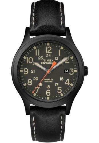 TIMEX black Exped Scout Black Black Dial TI857AC0FOYNSG_1