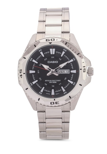 Casio silver Casio Men's Analogue Watch CA843AC0S3HTMY_1