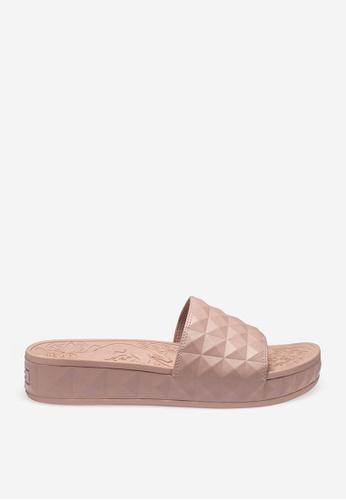 ASH pink Splash - Nude Embossing Slip Ons EC83ESH140CFC9GS_1