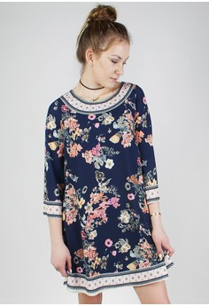 The ROSEMARY Floral Dress
