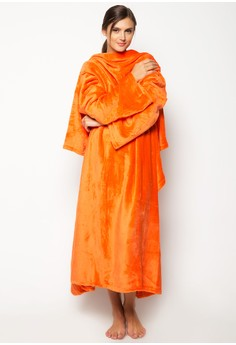 Bleeves (Blanket + Sleeves) Orange