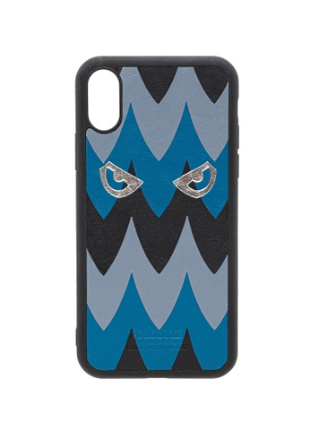 POROLUXE blue PHONE CASE FOR IPHONE X 5D864AC9E39D2BGS_1