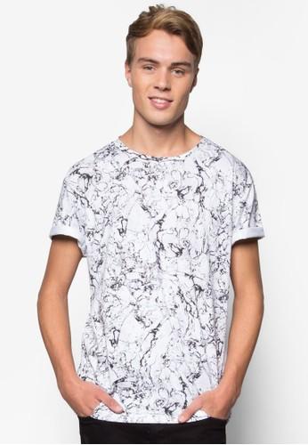 印花短袖TEesprit hkE, 服飾, 印圖T恤