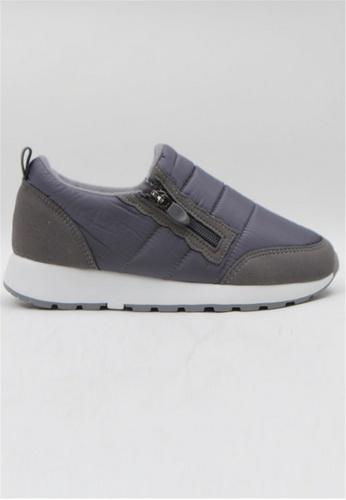 Crystal Korea Fashion grey Korean-made Winter Wild Waterproof Casual Shoes C36B0SH59A91FCGS_1