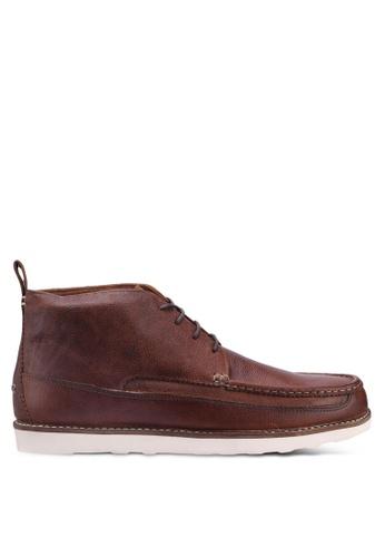 Burton Menswear London brown Tan Davis Chukka 1AA8DSHBBE9CB1GS_1