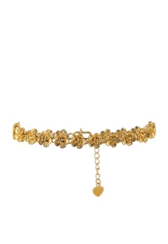 Megane gold Salmah Gold Plated Bracelet 541DBAC2A86D0FGS_1