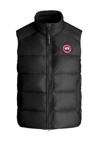 Canada Goose black Canada Goose Cypress Down Vest in Black 0D758AA2CE682CGS_1