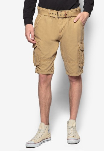 Mesprit taiwanonroe 雙口袋休閒短褲, 服飾, 服飾