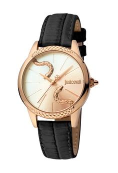 fdedef2b43e Just Cavalli black and gold Just Cavalli Animal Quartz Watch JC1L029L0065  184B1ACE50422BGS_1