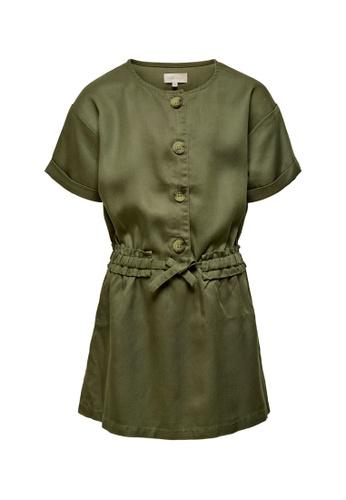 ONLY green Malene Lyocell Dress 2F87EKAB4B18ADGS_1