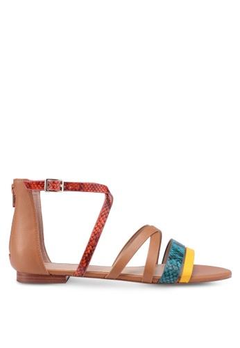 ALDO brown Rirarien Sandals 4DC85SHF5A8E6CGS_1