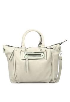 Satchel Front Zip Pocket Bag