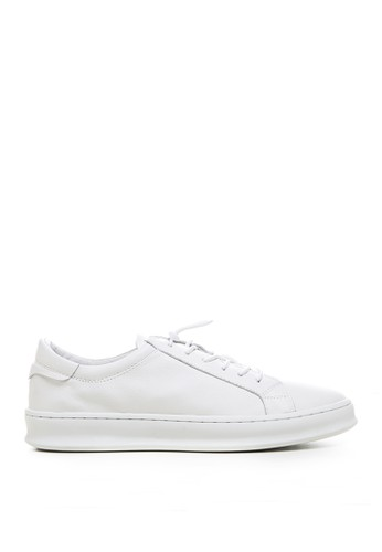 Minarno white Minarno White Basic Leather Sneakers 126-65 33D96SH47D1D6CGS_1