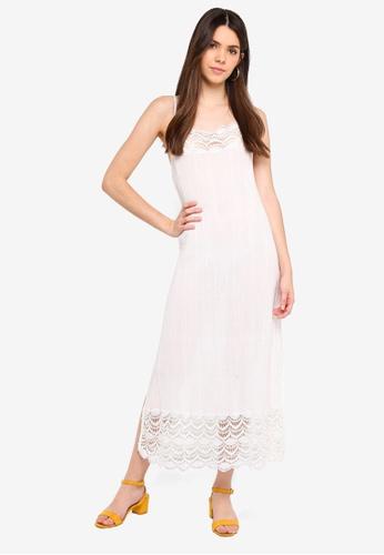 Free People pink Abbie Cotton Maxi Dress 67BD6AA107EA52GS 1 b844d161a