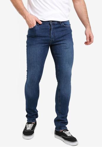 Factorie 紫色 Skinny Leg Denim Jeans 4E778AAF6AE47AGS_1