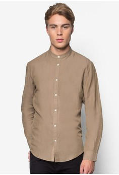 Woven Long Sleeve Shirt