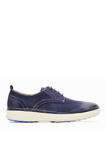 Life8 blue Wax Look Casual Shoes-09719-Blue LI283SH0GP84SG_1
