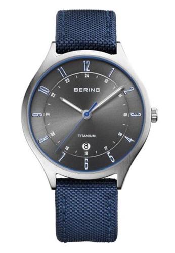 Bering blue Classic  11739-873 Grey 39mm Men's Watch 38D51ACE38631BGS_1