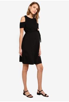 46e82f4316dba Seraphine Bluebell Off Shoulder Nursing Dress S$ 123.90. Sizes 12