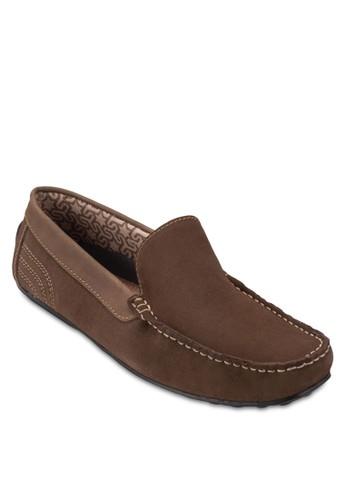 Norway 方頭麂皮莫卡辛鞋, 鞋, esprit outlet hong kong鞋