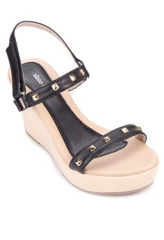 Maggie Wedge Sandals