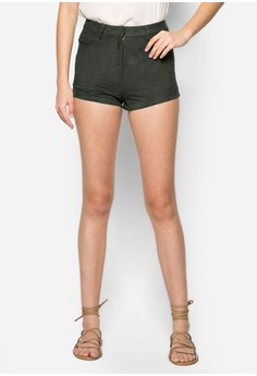 Textured Structure Shorts