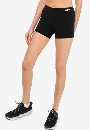 2XU black Fitness Comp. 4 Inch Short Tights D1978AA06574D0GS_1