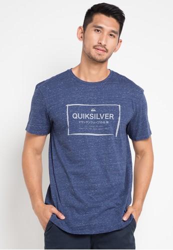 Quiksilver blue Quik In The Box T-Shirt 19F52AAB2DE1FFGS_1
